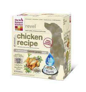 Honest Kitchen Raw Dehydrated Chicken food for dogs