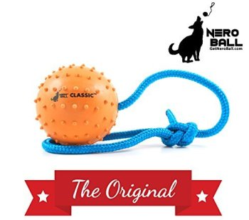 The Nero Ball Classic TM - K-9 Ball On a Rope Reward and Exercise Toy