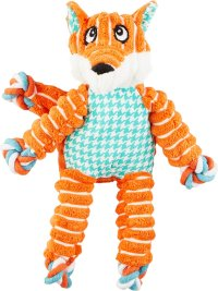 Kong Floppy Knots Fox Toy