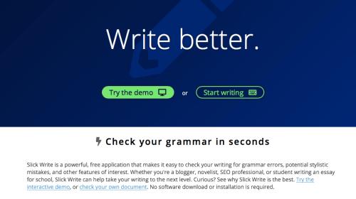 Smoothly write