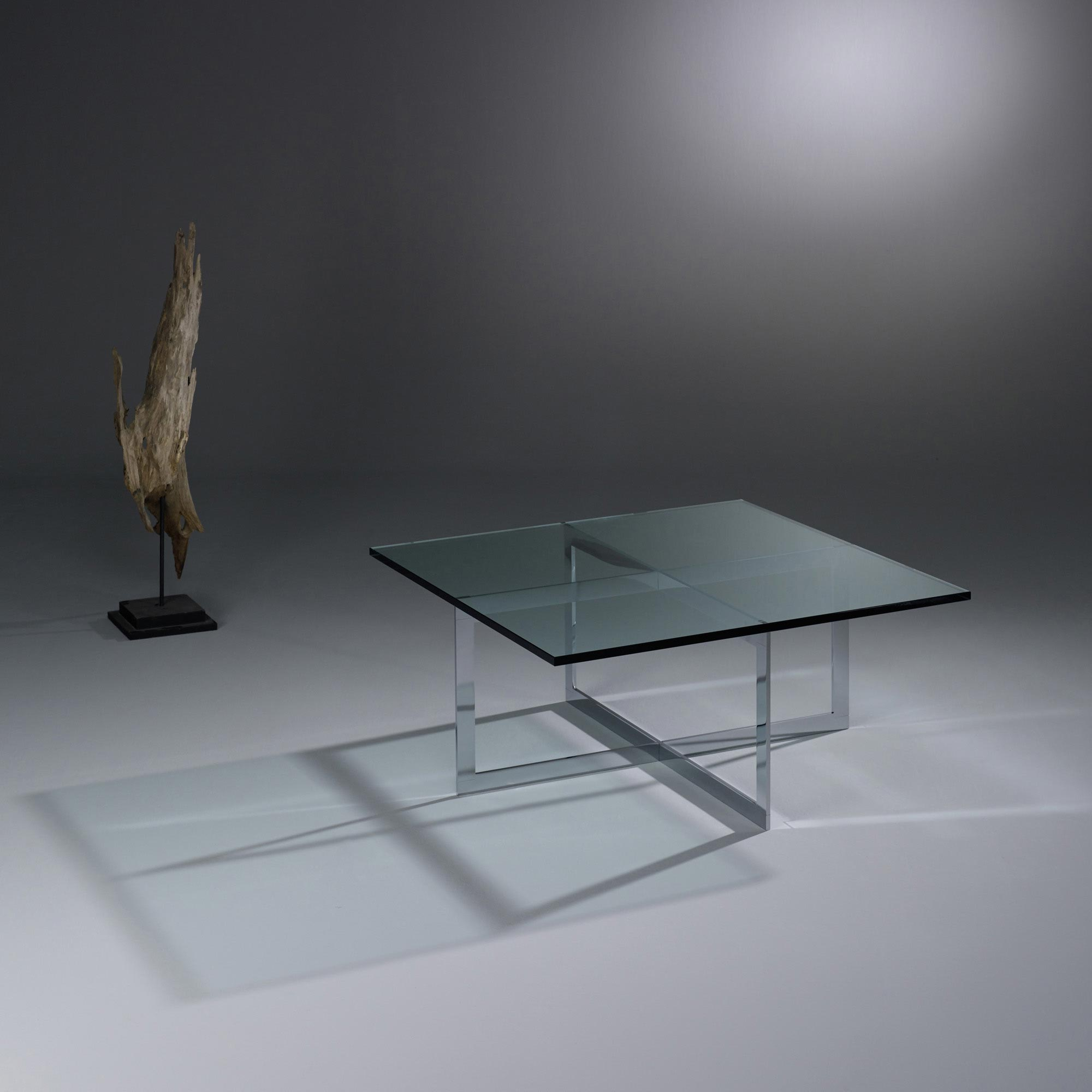 buy glass coffee table with metal
