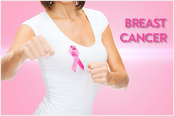 Cancer untreated breast left