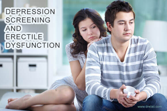 Depression Screening and Erectile Dysfunction Image