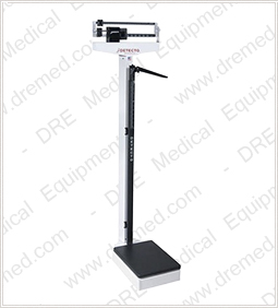 Detecto Standing Scale with Height Rod #439
