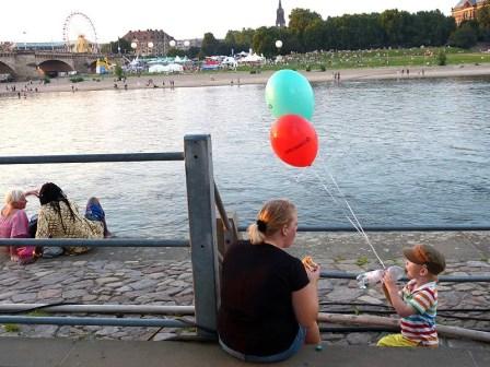 Elbufer Stadtfest Dresden
