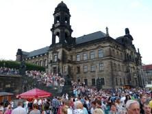 Aufgang zur Brühlschen Terasse Stadtfest
