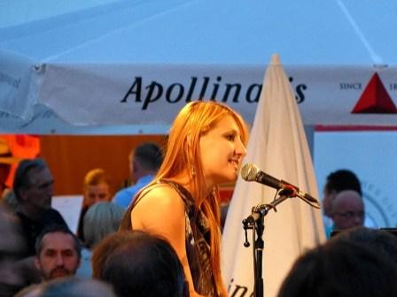 Sängerin Stadtfest