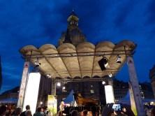 Bühne Stadtfest mit Frauenkirche