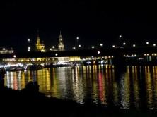Stadtfest Dresden bei Nacht