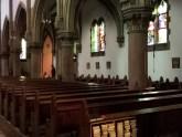 Säulen in der Herz Jesu Kirche