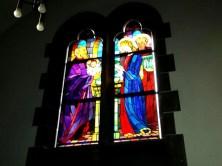 Farbiges Kirchenfenster