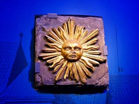 Original Sonne im Panometer Dresden