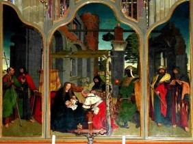 Gemälde Altar