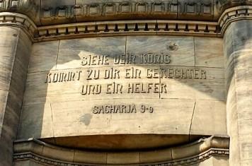 Inschrift Alte Zionskirche