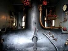 Kessel der Dampflok