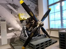 Propeller Motor im Verkehrsmuseum