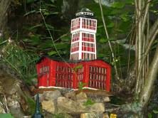 Modell mit Turm