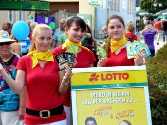 Tag der Sachsen 2014 Lotto