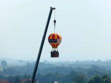 Tag der Sachsen 2014 kleiner Heißluftballon