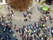 Tag der Sachsen 2014 Blick auf den Platz