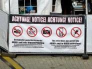 Tag der Sachsen 2014 Aufnahmen verboten