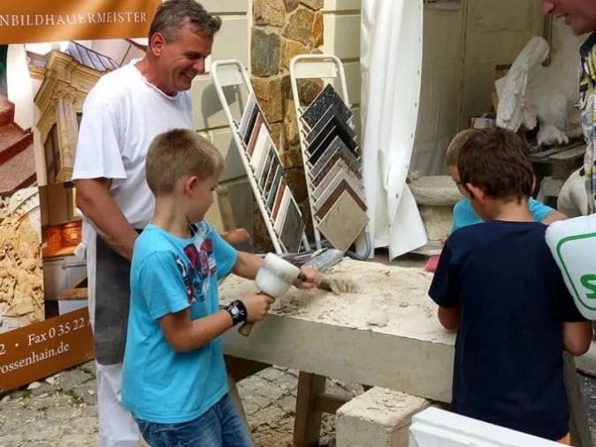 Tag der Sachsen 2014 fleißige Handwerker