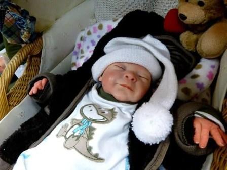 Tag der Sachsen 2014 Puppe oder Baby?