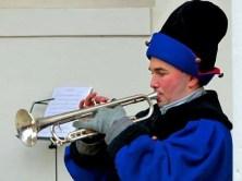 Weihnachtsmarkt Dresden Trompeter
