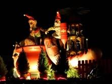 Dekoration auf dem Weihnachtsmarkt