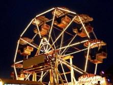 Riesenrad auf dem Dresdner Striezelmarkt