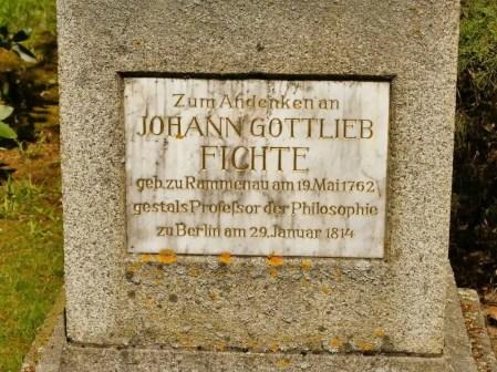 Johann Gottlieb Fichte Rammenau