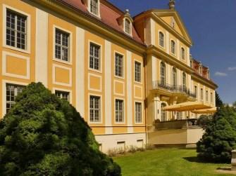 Seitenansicht Schloss Rammenau
