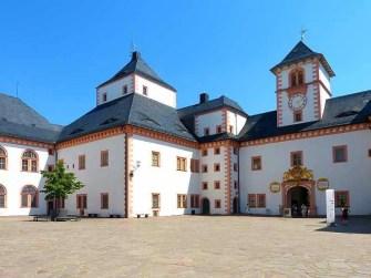 Wandverzierung Schloss Augustusburg