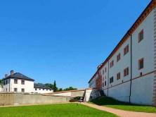 Gebäude Innenhof Schloss Augustusburg
