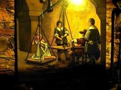 Bild mit Hexenwaage