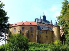Burg Kriebstein von vorn