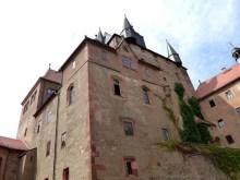 Innenhof Burg Kriebstein