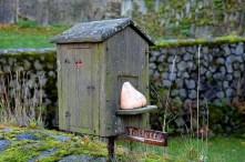 Kleine Toilette