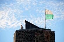 Turm mit Fahne