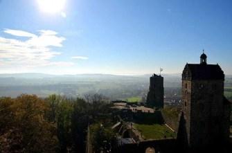Weitblick von der Burg Stolpen