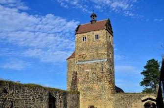 Turm Burg Stolpen