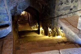 Stufen zum Keller