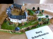 Burg Scharfenstein in Miniatur