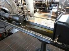 Blick in die Maschine Bergbaumuseum Oelsnitz