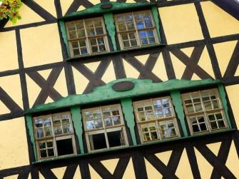 Fenster Rathaus Fachwerk Hohnstein