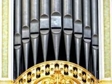 Silbermann Orgel Nahaufnahme
