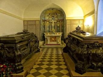Historische Särge Kapelle