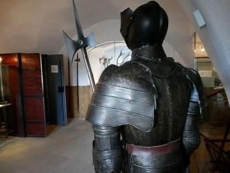 Ritter in der Burg Hohnstein