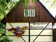 Vorderansicht Zschoner Mühle mit Puppentheater