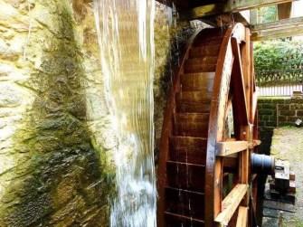 Mühlenrad Wasserrad Zschoner Mühle